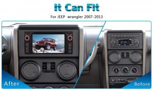ANDROID autoradio navigatore per Jeep Compass Commander Grand Cherokee Wrangler Unlimited Chrysler Dodge GPS DVD WI-FI Bluetooth MirrorLink
