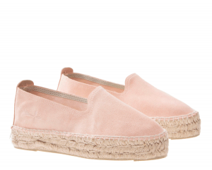 Slippers pelle rosa - MANEBI