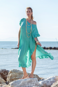 SHOPPING ON LINE PHO FIRENZE KAFTANO LUNGO IN LUREX NEW COLLECTION WOMEN'S SPRING SUMMER 2020