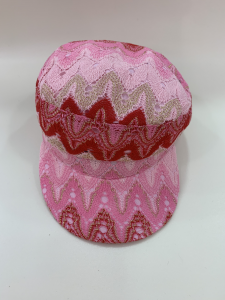 SHOPPING ON LINE PHO FIRENZE CAPPELLO CON DISEGNO GEOMETRICO NEW COLLECTION WOMEN'S SPRING SUMMER 2020