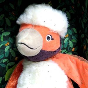Paloma uccello pupazzo delle attività