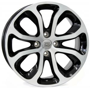 Cerchi in lega WSP Italy  METZ34CT03  16''  Width 6.0   4x108  ET 23  CB 65,1    Glossy Black Polished
