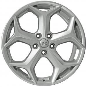 Cerchi in lega WSP Italy  FENIA9FO57  17''  Width 7.0   5x108  ET 52.5  CB 63,4    Silver Shine