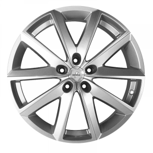 Cerchi in lega  Fondmetal  7600  17''  Width 7.50   5x108  ET 45.00  CB 67.2 Ring Seat    Glossy Silver