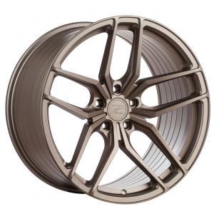 Cerchi in lega  Z-Performance  ZP2.1 Deep Concave   19''  Width 9.5   5x120  ET 40  CB 72.6    FlowForged Matte Carbon Bronze