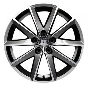 Cerchi in lega  Fondmetal  7600  17''  Width 7.50   5x112  ET 48.00  CB 67.2 Ring Seat    Glossy Titanium Machined