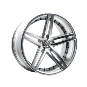 Cerchi in lega  AXE  EX20  22''  Width 10.5   5x114.3  ET 38  CB 74.1    Silver Polished Face & Barrel