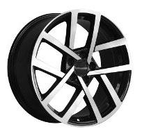 Cerchi in lega  2019 GOLF R LINE  Dedica  VW & SKODA  18''  Width 8   5x112  ET 45  CB 57.1    BLACK / POLISHED