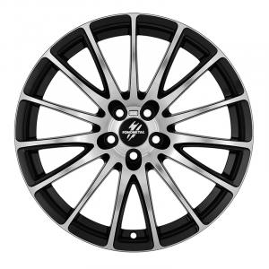 Cerchi in lega  Fondmetal  7800  18''  Width 8.00   5x114.3  ET 30.00  CB 67.2 Ring Seat    Glossy Black Machined