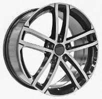 Cerchi in lega  2016 GT TDI  Dedica  VW & SKODA  18''  Width 8   5x112  ET 45  CB 66.6    BLACK / POLISHED