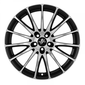 Cerchi in lega  Fondmetal  7800  18''  Width 8.00   5x108  ET 38.00  CB 67.2 Ring Seat    Glossy Black Machined