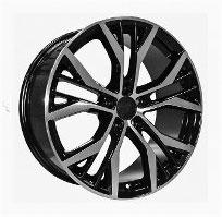 Cerchi in lega  2014 GT TDI  Dedica  VW & SKODA  17''  Width 7.5   5x100  ET 35  CB 57.1    BLACK / POLISHED