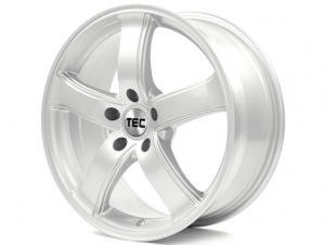 Cerchi in lega  TEC-Speedwheels  AS1  18''  Width 8   5x112  ET 35  CB 66,45    Kristall-Silber
