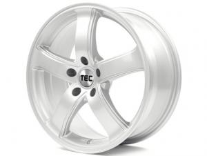 Cerchi in lega  TEC-Speedwheels  AS1  18''  Width 8   5x120  ET 45  CB 72,6    Kristall-Silber