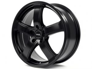 Cerchi in lega  TEC-Speedwheels  AS1  18''  Width 8   5x120  ET 20  CB 74,1    Schwarz-Seidenmatt