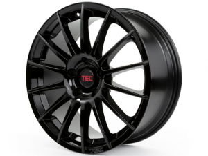 Cerchi in lega  TEC-Speedwheels  AS2  19''  Width 8,5   5x120  ET 40  CB 72,6    Schwarz-Glanz