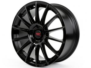 Cerchi in lega  TEC-Speedwheels  AS2  19''  Width 8,5   5x120  ET 15  CB 74,1    Schwarz-Glanz