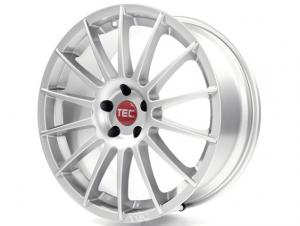 Cerchi in lega  TEC-Speedwheels  AS2  19''  Width 8,5   5x105  ET 38  CB 56,6    Kristall-Silber