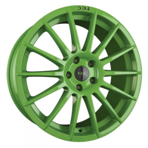 Cerchi in lega  TEC-Speedwheels  AS2  19''  Width 8,5   5x105  ET 38  CB 56,6    Grün