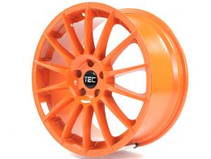 Cerchi in lega  TEC-Speedwheels  AS2  19''  Width 8,5   5x105  ET 38  CB 56,6    Orange