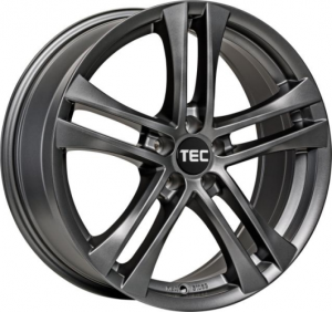 Cerchi in lega  TEC-Speedwheels  AS4  17''  Width 7,5   5x120  ET 35  CB 72,6    Gun-Metal