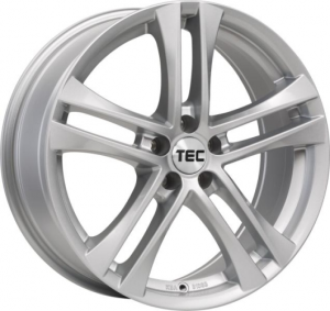 Cerchi in lega  TEC-Speedwheels  AS4  17''  Width 7,5   5x100  ET 38  CB 57,1    Brillant-Silber