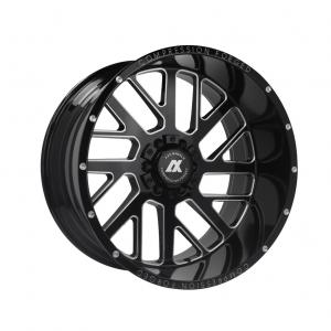 Cerchi in lega  AXE  AX2.0  20''  Width 10   5x127  ET -19  CB 87.1    Gloss Black & Chamfer