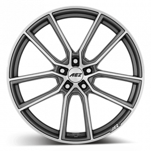 Cerchi in lega  AEZ  Raise  19''  Width 8   5x120  ET 35  CB 72,6    Gunmetal/polished