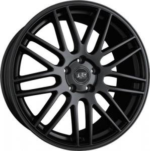 Cerchi in lega  TEC-Speedwheels  GT1  19''  Width 9,5   5x120  ET 20  CB 74,1    Schwarz-Seidenmatt
