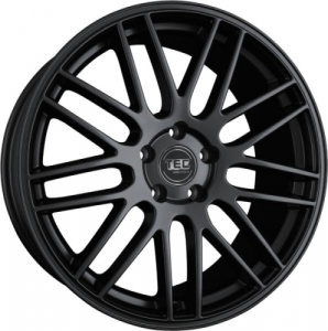 Cerchi in lega  TEC-Speedwheels  GT1  22''  Width 9,5   5x112  ET 33  CB 72,6    Schwarz-Seidenmatt