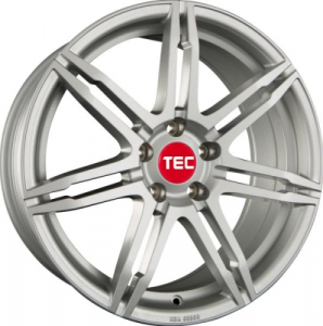 Cerchi in lega  TEC-Speedwheels  GT2  20''  Width 8,5   5x120  ET 35  CB 72,6    Kristall-Silber