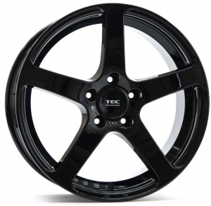 Cerchi in lega  Tec-Speedwheels  GT5  18''  Width 10   5x130  ET 52  CB 71,5    Schwarz-Glanz
