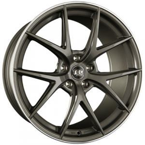 Cerchi in lega  TEC-Speedwheels  GT6  20''  Width 8,5   5x114,3  ET 40  CB 72,5    Anthrazit-Glanz-Hornpoliert