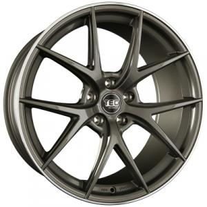 Cerchi in lega  TEC-Speedwheels  GT6  19''  Width 9   5x112  ET 25  CB 72,5    Anthrazit-Glanz-Hornpoliert
