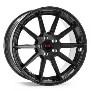 Cerchi in lega  TEC-Speedwheels  GT7  19''  Width 9,5   5x112  ET 30  CB 72,5    Schwarz-Glanz
