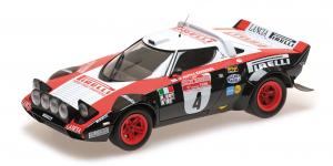 Lancia Stratos Lancia Pirelli Alén Kivimäki Winners Rallye Sanremo 1978 1/18