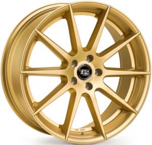 Cerchi in lega  TEC-Speedwheels  GT7  19''  Width 9,5   5x120  ET 38  CB 72,6    Gold