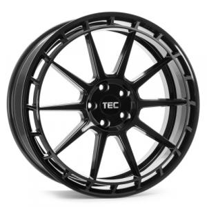 Cerchi in lega  Tec-Speedwheels  GT8  18''  Width 8   4x108  ET 38  CB 63,4    Schwarz-Glanz