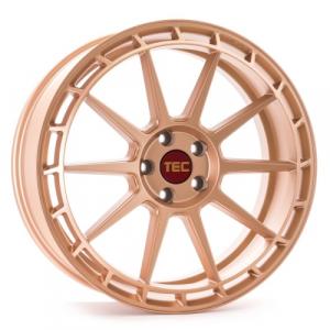 Cerchi in lega  Tec-Speedwheels  GT8  18''  Width 8   5x120  ET 35  CB 72,6    Rosé-Gold