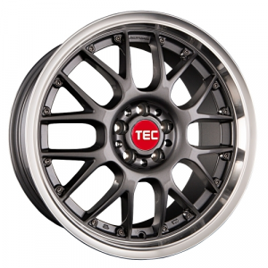 Cerchi in lega  TEC-Speedwheels  GT-AR1  19''  Width 9,5   5x112  ET 30  CB 72,5    Anthrazit-Glanz-Hornpoliert