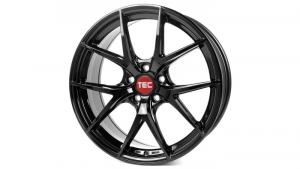 Cerchi in lega  TEC-Speedwheels  GT6 EVO  22''  Width 10   5x120  ET 20  CB 74,1    Schwarz-Glanz