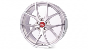 Cerchi in lega  TEC-Speedwheels  GT6 EVO  22''  Width 10   5x120  ET 35  CB 74,1    Brillant-Silber-Frontpoliert