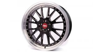 Cerchi in lega  TEC-Speedwheels  GT EVO  20''  Width 10   5x112  ET 35  CB 72,5    Schwarz-Glanz-Hornpoliert