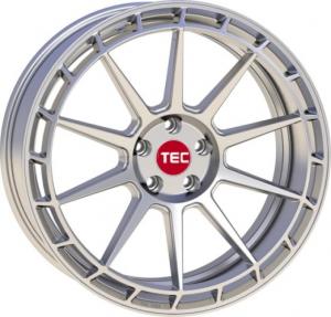 Cerchi in lega  TEC-Speedwheels  GT7  21''  Width 9   5x114,3  ET 40  CB 72,5    Hyper-Silber