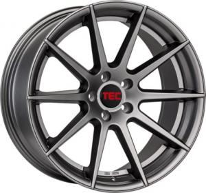 Cerchi in lega  TEC-Speedwheels  GT7  21''  Width 9   5x120  ET 40  CB 72,6    Gun-Metal