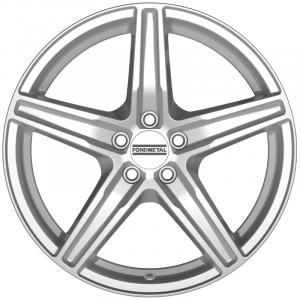 Cerchi in lega  Fondmetal  8100  17''  Width 7.00   5x112  ET 42.00  CB 75.0 Ring Seat    Glossy Silver