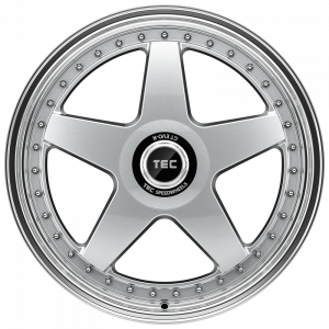 Cerchi in lega  TEC-Speedwheels  GT EVO-R  19''  Width 8,5   5x108  ET 45  CB 72,5    hyper-silber-hornpoliert