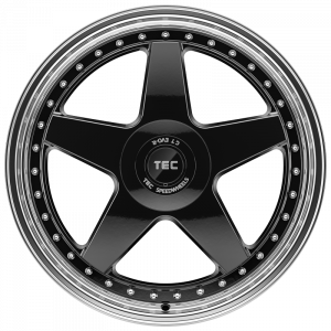 Cerchi in lega  TEC-Speedwheels  GT EVO-R  20''  Width 9   5x112  ET 45  CB 72,5    schwarz-glanz-hornpoliert