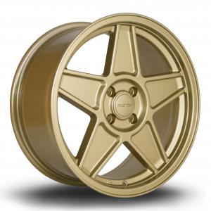 Cerchi in lega  Rota  RSS  17''  Width 7.5   4x100  ET 40  CB 67,1    Gold