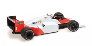 McLaren TAG MP4/2C Alain Prost World Champion 1986 1/18 Minichamps
